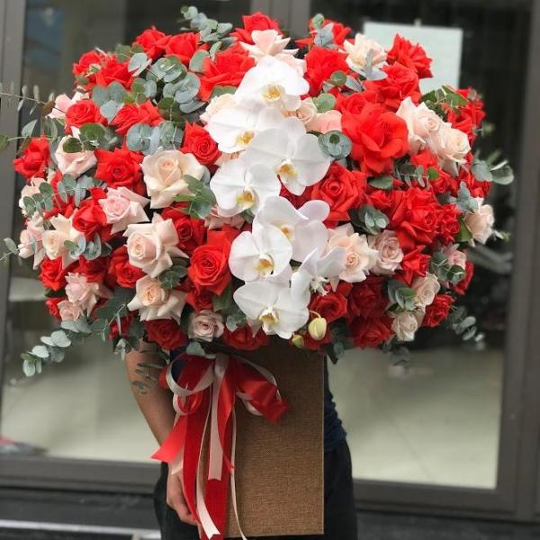 lẵng hoa hồng đẹp nhất