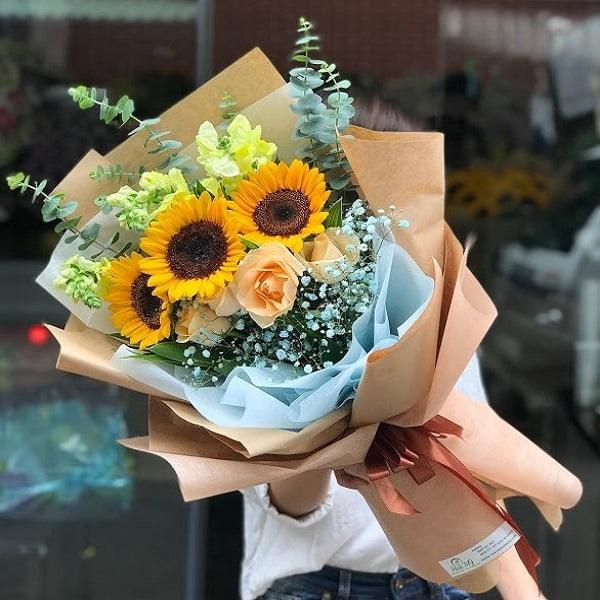 bó hoa sự kiện