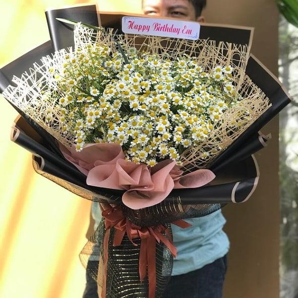 bó hoa cúc tana đẹp