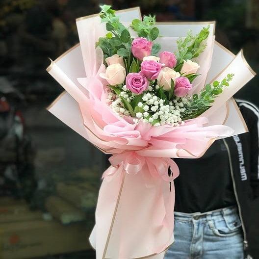 bó hoa hồng giá rẻ