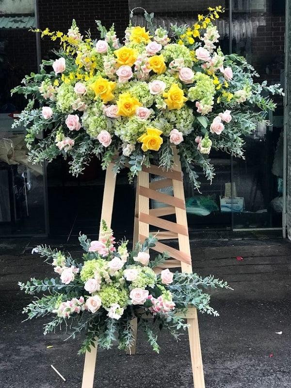 hoa tặng khai trương