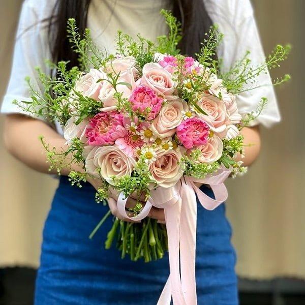 bó hoa cưới đẹp