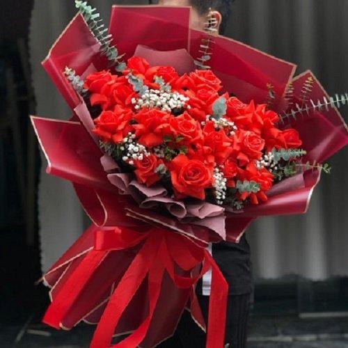 Hoa hồng sinh nhật đẹp