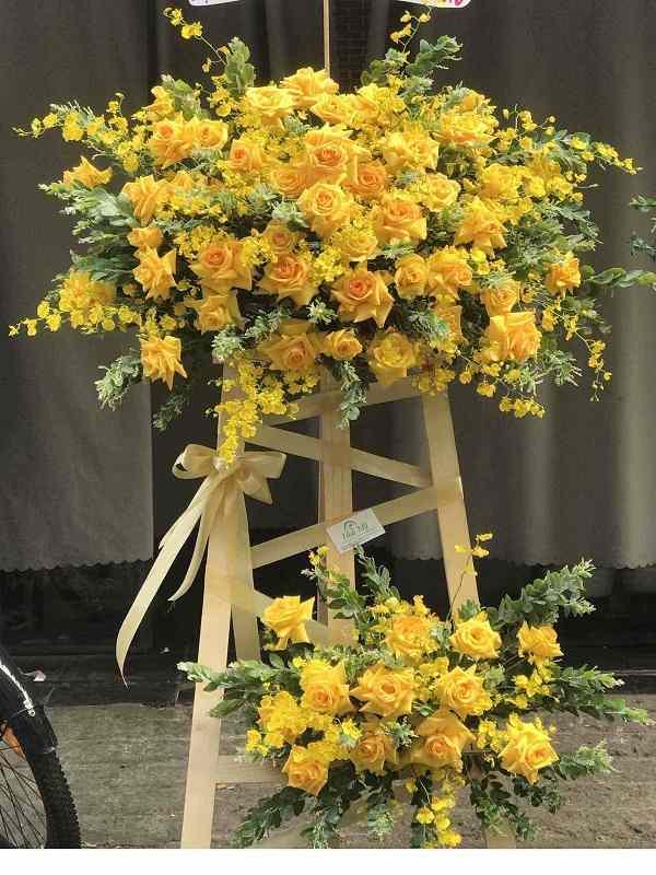 khai trương nên tặng hoa gì