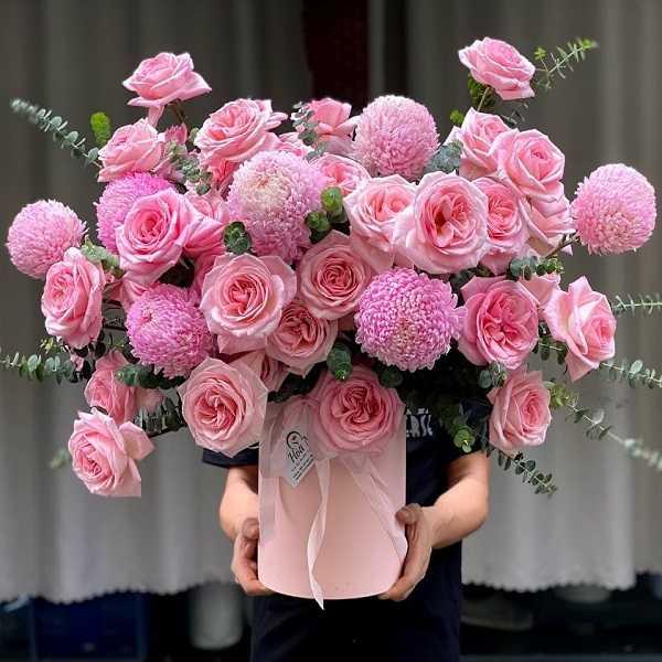 hoa sinh nhật sang chảnh