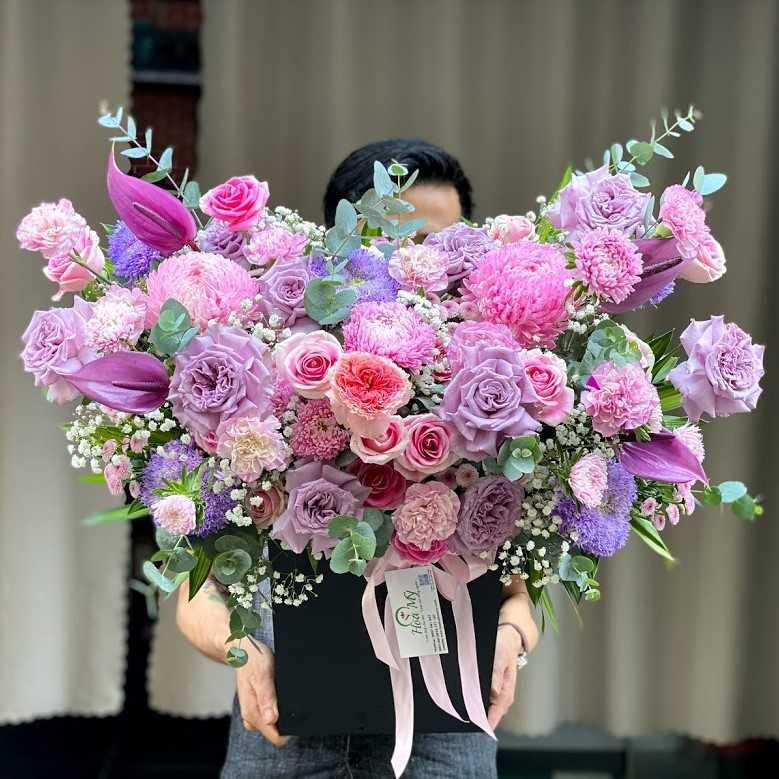 hoa tặng mẹ ngày sinh nhật