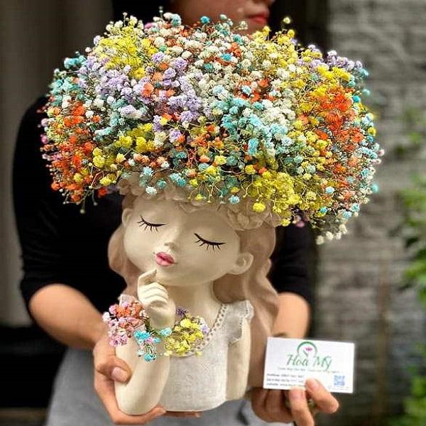 lọ hoa baby nhiều màu
