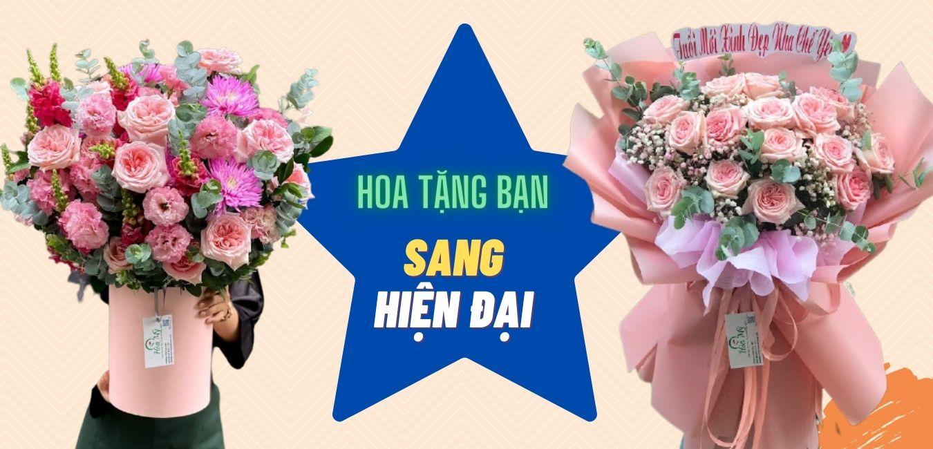 hoa tặng bạn