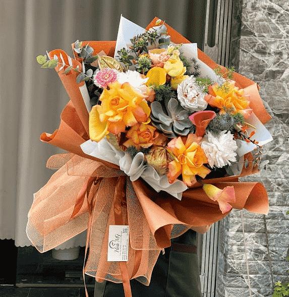 Hoa Bó Mẫu Đơn